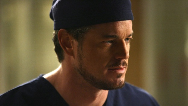 "GREY'S ANATOMY - ""Testing 1-2-3"" - The interns take the biggest test of their careers, their first-year medical exams, as the residents attend to three injured mountain climbers. Meanwhile Callie's suspicions of George and Izzie grow, and Cristina struggles to write her wedding vows, on ""Grey's Anatomy,"" THURSDAY, MAY 10 (9:00-10:01 p.m., ET) on the ABC Television Network. (ABC/SCOTT GARFIELD)ERIC DANE"