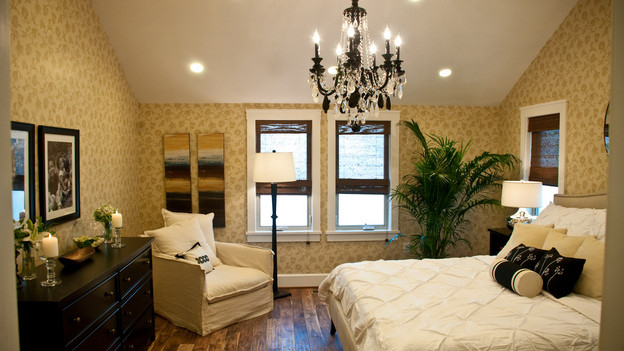 EXTREME MAKEOVER HOME EDITION - &quot;Tripp Family,&quot; - Master Bedroom, on &quot;Extreme Makeover Home Edition,&quot; Sunday, February 14th on the ABC Television Network.
