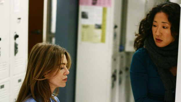 "GREY'S ANATOMY - ""Yesterday"" - (ABC/SCOTT GARFIELD)ELLEN POMPEO, SANDRA OH"