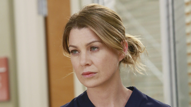 "GREY'S ANATOMY - ""Second Opinion"" - As the doctors continue with their lawsuit, they're forced to confront the realities of their injuries. Meanwhile, Bailey tricks Arizona into helping her with a pediatric case, and Cristina tries to find normalcy in her new environment, on ""Grey's Anatomy,"" THURSDAY, NOVEMBER 15 (9:00-10:02 p.m., ET) on the ABC Television Network. (ABC/RON TOM)ELLEN POMPEO"