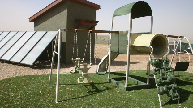 "EXTREME MAKEOVER HOME EDITION - ""Yazzie Family"" - Playground, on ""Extreme Makeover Home Edition,"" Sunday, October 28th on the ABC Television Network."