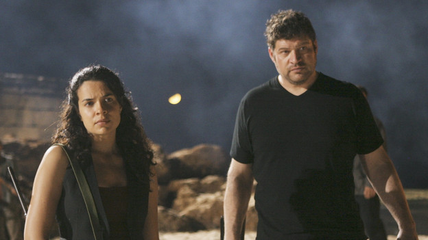 "LOST - ""LA X"" - ""Lost"" returns for its final season of action-packed mystery and adventure -- that will continue to bring out the very best and the very worst in the people who are lost -- on the season premiere of ""Lost,"" TUESDAY, FEBRUARY 2 (9:00-11:00 p.m., ET) on the ABC Television Network. On the season premiere episode, ""LA X"" Parts 1 & 2, the aftermath from Juliet's detonation of the hydrogen bomb is revealed. (ABC/MARIO PEREZ)ZULEIKHA ROBINSON, BRAD WILLIAM HENKE"