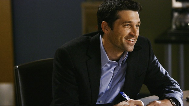 "GREY'S ANATOMY - ""Now or Never"" - Dr. Derek Shepherd on ""Grey's Anatomy,"" THURSDAY, MAY 14 (9:00-11:00 p.m., ET) on the ABC Television Network. PATRICK DEMPSEY"