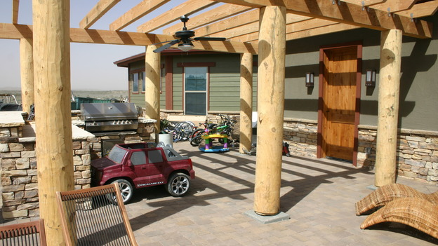 EXTREME MAKEOVER HOME EDITION - &quot;Yazzie Family&quot; - Patio, on &quot;Extreme Makeover Home Edition,&quot; Sunday, October 28th on the ABC Television Network.