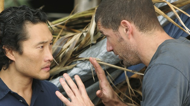 "LOST - ""The Long Con"" - (ABC/MARIO PEREZ)DANIEL DAE KIM, MATTHEW FOX"