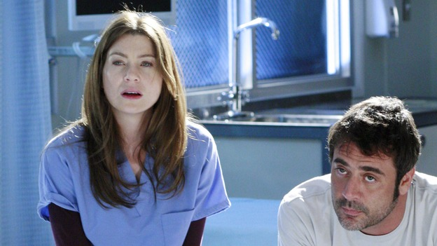 "GREY'S ANATOMY - ""Some Kind of Miracle"" - One person's fight to live affects everyone at Seattle Grace, in the dramatic conclusion to ""Grey's Anatomy's"" three-episode story arc. ""Some Kind of Miracle"" airs THURSDAY, FEBRUARY 22 (9:00-10:01 p.m., ET) on the ABC Television Network. Elizabeth Reaser (Independent Spirit Award nominee for ""Sweet Land"") guest stars as a patient. (ABC/RON TOM)ELLEN POMPEO, JEFFREY DEAN MORGAN"