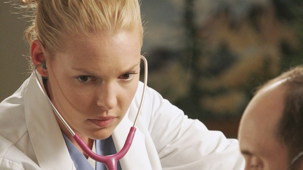 "GREY'S ANATOMY - ""Kung Fu Fighting"" (ABC/VIVIAN ZINK)KATHERINE HEIGL, CULLEN DOUGLAS"