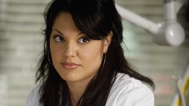 GREY'S ANATOMY - &quot;Sweet Surrender&quot; - Dr. Callie Torres, on &quot;Grey's Anatomy,&quot; THURSDAY, APRIL 23 (9:00-10:02 p.m., ET) on the ABC Television Network. (ABC/RANDY HOLMES) SARA RAMIREZ