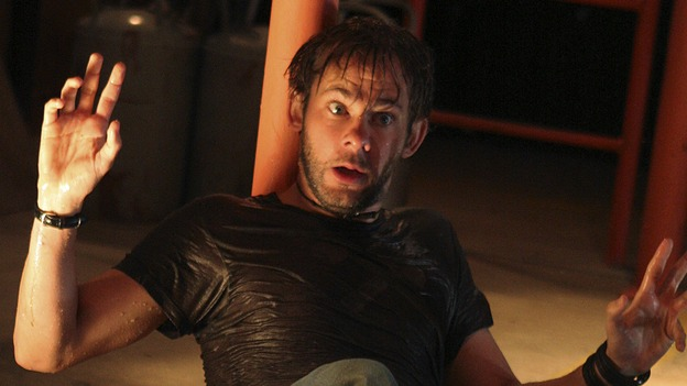 "LOST - ""Through the Looking Glass"" - Jack and the castaways begin their efforts to make contact with Naomi's rescue ship, on the season finale of ""Lost,"" WEDNESDAY, MAY 23 (9:00-11:00 p.m., ET), on the ABC Television Network. (ABC/MARIO PEREZ)DOMINIC MONAGHAN"