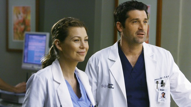 "GREY'S ANATOMY - ""Now or Never"" - Drs. Meredith Grey and Derek Shepherd, on ""Grey's Anatomy,"" THURSDAY, MAY 14 (9:00-11:00 p.m., ET) on the ABC Television Network. ELLEN POMPEO, PATRICK DEMPSEY"