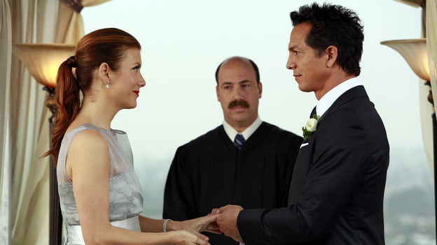 PRIVATE PRACTICE - &quot;In Which We Say Goodbye&quot; - ABC's hit drama &quot;Private Practice&quot; will end its run with a special farewell to the beloved doctors of Seaside Health and Wellness. Naomi returns to stand by Addison's side on her wedding day, Cooper struggles with the hardships of being a stay-at-home father, and Violet begins a new project close to her heart, on the Series Finale of &quot;Private Practice,&quot; TUESDAY, JANUARY 22 (10:00-11:00 p.m., ET) on the ABC Television Network. (ABC/RON TOM)KATE WALSH, KEVIN KOSTER, BENJAMIN BRATT