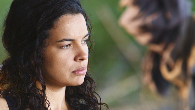 "LOST - ""The Package"" - Sun and Jin desperately continue their search for one another, and Locke confronts his enemy, on ""Lost,"" TUESDAY, MARCH 30 (9:00-10:02 p.m., ET) on the ABC Television Network. (ABC/MARIO PEREZ)ZULEIKHA ROBINSON"