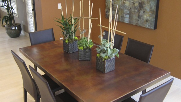 EXTREME MAKEOVER HOME EDITION - &quot;Gomez Family,&quot; - Dining Room  Picture,  on   &quot;Extreme Makeover Home Edition,&quot; Sunday, October 2nd     (8:00-9:00   p.m.  ET/PT) on the ABC Television Network.