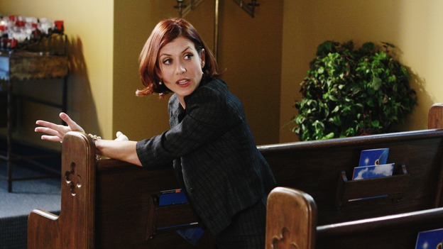 "GREY'S ANATOMY - ""Before and After"" - Addison goes to the chapel to pray for her brother, Archer, on ""Grey's Anatomy,"" THURSDAY, FEBRUARY 12 (9:00-10:02 p.m., ET) on the ABC Television Network. (ABC/RON TOM) KATE WALSH"
