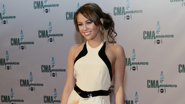 THE 42ND ANNUAL CMA AWARDS - ARRIVALS - &quot;The 42nd Annual CMA Awards&quot; will be broadcast live from the Sommet Center in Nashville, WEDNESDAY, NOVEMBER 12 (8:00-11:00 p.m., ET) on the ABC Television Network. (ABC/ADAM LARKEY)MILEY CYRUS