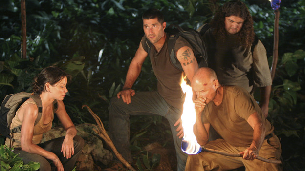 "LOST - ""Man of Science"" (ABC/MARIO PEREZ) EVANGELINE LILLY, MATTHEW FOX, TERRY O'QUINN, JORGE GARCIA"
