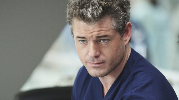 "GREY'S ANATOMY - ""State of Love and Trust"" - As Derek begins his role as interim chief, he faces a potential lawsuit when Bailey and Meredith's patient awakens from anesthesia mid-surgery. Meanwhile, Teddy refuses to place Cristina on her service, as Arizona tests Alex out in Pediatrics, and Mark refuses to speak to a heartbroken Lexie, on ""Grey's Anatomy,"" THURSDAY, FEBRUARY 4 (9:00-10:01 p.m., ET) on the ABC Television Network. (ABC/ADAM LARKEY)ERIC DANE"