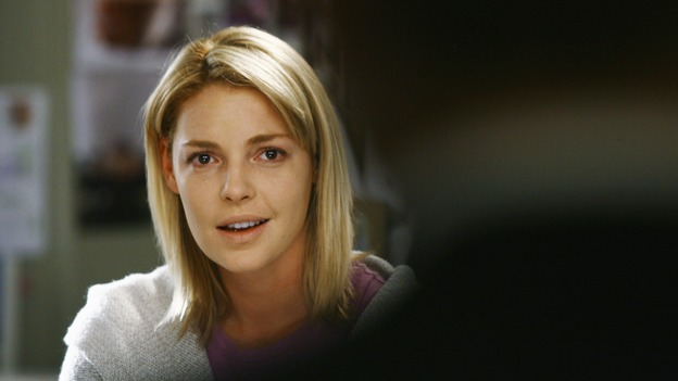 GREY'S ANATOMY - &quot;What a Difference a Day Makes&quot; - Izzie finds out that she's getting her chance to have her dream wedding, on &quot;Grey's Anatomy,&quot; THURSDAY, MAY 7 (9:00-10:02 p.m., ET) on the ABC Television Network. (ABC/SCOTT GARFIELD) KATHERINE HEIGL