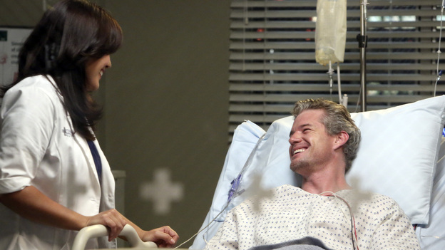 BFFsCallie had a romance with Mark Sloan, but these two were always better off as friends. Their passion for each other did bring about Sofia, so it's for the best that they didn't always keep things platonic.