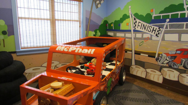 EXTREME MAKEOVER HOME EDITION - &quot;McPhail Family,&quot; - Racecar Bedroom Picture,           on   &quot;Extreme Makeover Home Edition,&quot; Friday, October 28th              (8:00-10:00   p.m.  ET/PT) on the ABC Television Network.