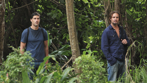"LOST - ""What They Died For"" - While Locke devises a new strategy, Jack's group searches for Desmond, on ""Lost,"" TUESDAY, MAY 18 (9:00-10:02 p.m., ET) on the ABC Television Network. (ABC/MARIO PEREZ)MATTHEW FOX, JOSH HOLLOWAY"