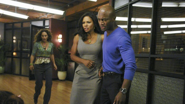 PRIVATE PRACTICE - &quot;Tempting Faith&quot; - Addison receives a surprise visit from her brother and fellow surgeon, Archer, and his presence not only causes trouble for her, but for Naomi and Sam as well. Meanwhile Meg returns to try to make it work with Pete, and a patient accused of a malicious crime stirs up anger and emotions, for both Violet and Dell, on &quot;Private Practice,&quot; WEDNESDAY, NOVEMBER 26 (9:00-10:01 p.m., ET) on the ABC Television Network. (ABC/RICHARD CARTWRIGHT)AMY BRENNEMAN, AUDRA MCDONALD, TAYE DIGGS