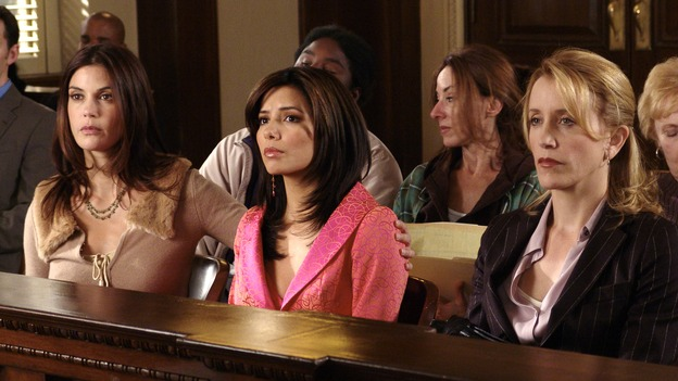 DESPERATE HOUSEWIVES - - (ABC/DANNY FELD) TERI HATCHER, EVA LONGORIA, FELICITY HUFFMAN