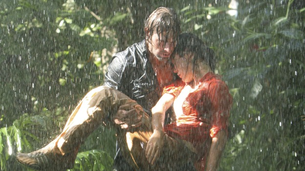"LOST - ""The Long Con"" (ABC/MARIO PEREZ)JOSH HOLLOWAY, YUNJIN KIM"