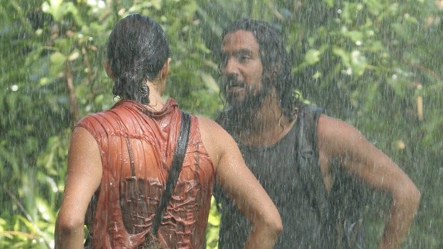 "LOST - ""Lockdown"" (ABC/MARIO PEREZ)MICHELLE RODRIGUEZ, NAVEEN ANDREWS"