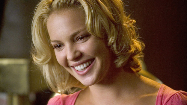 GREY'S ANATOMY - &quot;Brave New World&quot; - Izzie blows off some steam at Joe's, on &quot;Grey's Anatomy,&quot; THURSDAY, OCTOBER 16 (9:00-10:01 p.m., ET) on the ABC Television Network. (ABC/RANDY HOLMES) KATHERINE HEIGL