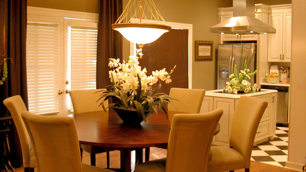 "EXTREME MAKEOVER HOME EDITION - ""Jones Family,"" - Dining Room, on ""Extreme Makeover Home Edition,"" Sunday, April 8th on the ABC Television Network."