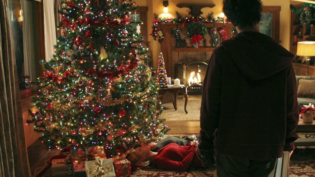 "GREY'S ANATOMY - ""Grandma Got Run Over By a Reindeer""  (ABC/RICHARD CARTWRIGHT) KATHERINE HEIGL, ELLEN POMPEO, T.R. KNIGHT"