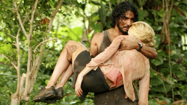 "LOST - ""Collision"" (ABC/MARIO PEREZ)NAVEEN ANDREWS, MAGGIE GRACE"