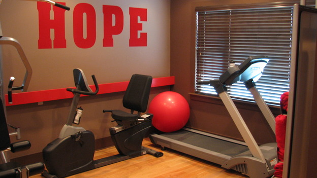 "EXTREME MAKEOVER HOME EDITION - ""Guinta,"" -  Workout Room, on ""Extreme Makeover Home Edition,"" Sunday, May 11th on the ABC Television Network."