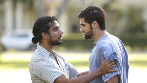 "LOST - ""The Greater Good"" - Sayid and his former college roommate, Essam, who had since become a terrorist, on ""Lost,"" THURSDAY, MAY 4 on the ABC Television Network. (ABC/MARIO PEREZ) NAVEEN ANDREWS, DONNIE KESHAWARZ"