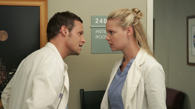 "103276_6818 -- GREY'S ANATOMY - ""ENOUGH IS ENOUGH"" (ABC/CRAIG SJODIN)JUSTIN CHAMBERS, KATHERINE HEIGL"