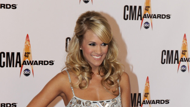 THE 43rd ANNUAL CMA AWARDS - RED CARPET ARRIVALS - &quot;The 43rd Annual CMA Awards&quot; will be broadcast live from the Sommet Center in Nashville, WEDNESDAY, NOVEMBER 11 (8:00-11:00 p.m., ET) on the ABC Television Network. (ABC/DONNA SVENNEVIK)CARRIE UNDERWOOD