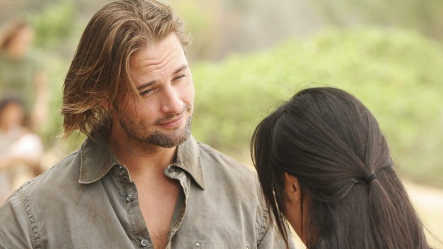 "LOST - ""The Whole Truth"" (ABC/MARIO PEREZ)JOSH HOLLOWAY, YUNJIN KIM"
