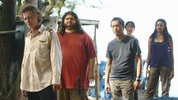 "LOST - ""The Package"" - Sun and Jin desperately continue their search for one another, and Locke confronts his enemy, on ""Lost,"" TUESDAY, MARCH 30 (9:00-10:02 p.m., ET) on the ABC Television Network. (ABC/MARIO PEREZ)JEFF FAHEY, JORGE GARCIA, KEN LEUNG, YUNJIN KIM, ZULEIKHA ROBINSON"