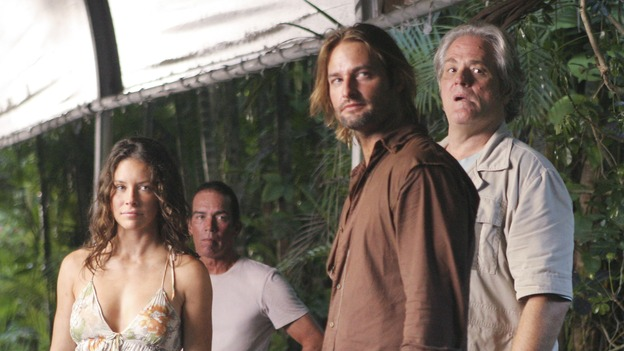 LOST - &quot;The Glass Ballerina&quot; - Sayid's plan to locate Jack places Sun and Jin's lives in grave danger. Meanwhile, Kate and Sawyer are forced to work in harsh conditions by their captors, and Henry makes a very tempting offer to Jack that may prove difficult to refuse, on &quot;Lost,&quot; WEDNESDAY, OCTOBER 18 (9:00-10:00 p.m., ET), on the ABC Television Network. (ABC/MARIO PEREZ)EVANGELINE LILLY, JOSH HOLLOWAY, M.C. GAINEY