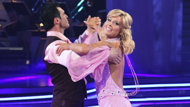 "DANCING WITH THE STARS - ""Episode 1001"" - All eleven couples danced for the first time on live national television on MONDAY, MARCH 22 (8:00-10:00 p.m., ET), with couples either performing the Viennese Waltz or Cha Cha, in the highly anticipated two-hour season premiere of ""Dancing with the Stars,"" on the ABC Television Network. (ABC/ADAM LARKEY)TONY DOVOLANI, KATE GOSSELIN"