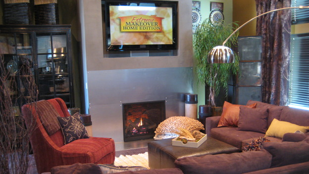 "EXTREME MAKEOVER HOME EDITION - ""Boettcher Family,"" - Living Room, on ""Extreme Makeover Home Edition,"" Sunday, March 16th on the ABC Television Network."