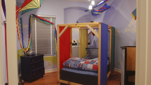 "EXTREME MAKEOVER HOME EDITION - ""Okvath Family,"" - Boy's Bedroom, on ""Extreme Makeover Home Edition,"" Sunday, May 13th on the ABC Television Network."