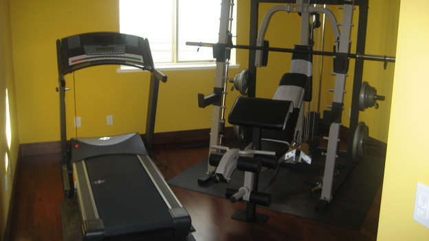 EXTREME MAKEOVER HOME EDITION - &quot;Pauni Family,&quot; - Workout Rooms, on &quot;Extreme Makeover Home Edition,&quot; Sunday, November 26th on the ABC Television Network.