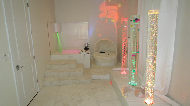 "EXTREME MAKEOVER HOME EDITION - ""McPhail Family,"" - Sensory Therapy  Room Picture,           on   ""Extreme Makeover Home Edition,"" Friday,  October 28th              (8:00-10:00   p.m.  ET/PT) on the ABC  Television Network."