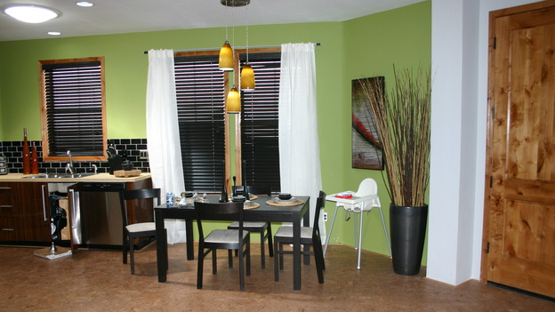 "EXTREME MAKEOVER HOME EDITION - ""Yazzie Family"" - Kitchen/Dining Room, on ""Extreme Makeover Home Edition,"" Sunday, October 28th on the ABC Television Network."