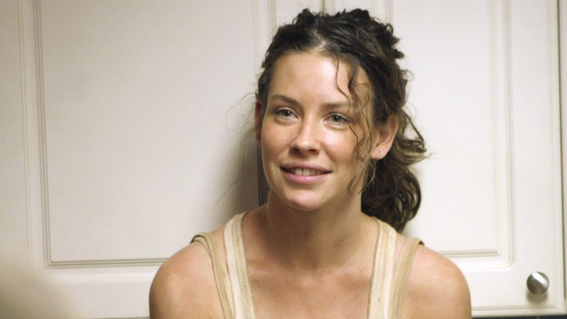 "LOST - ""Eggtown"" - Kate's need to get information out of the hostage may jeopardize her standing with Locke -- as well as with Sawyer -- on ""Lost,"" THURSDAY, FEBRUARY 21 (9:00-10:02 p.m., ET) on the ABC Television Network. (ABC/MARIO PEREZ)EVANGELINE LILLY"