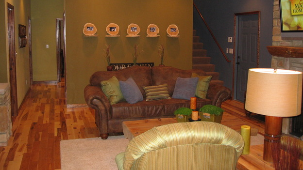 "EXTREME MAKEOVER HOME EDITION - ""Farina Family,"" - Living Room, on ""Extreme Makeover Home Edition,"" Sunday, November 12th on the ABC Television Network."