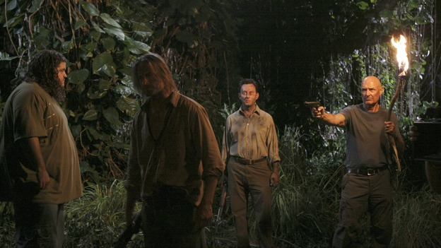 "LOST - ""Something Nice Back Home"" (ABC/MARIO PEREZ) JORGE GARCIA, JOSH HOLLOWAY, MICHAEL EMERSON, TERRY O'QUINN"