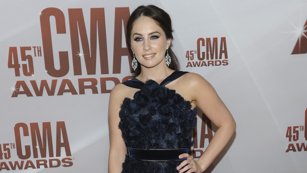 "THE 45th ANNUAL CMA AWARDS - RED CARPET ARRIVALS - ""The 45th Annual CMA Awards"" will broadcast live on ABC from the Bridgestone Arena in Nashville on WEDNESDAY, NOVEMBER 9 (8:00-11:00 p.m., ET). (ABC/JASON KEMPIN)HANNAH BLAYLOCK OF EDENS EDGE"